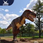 Zoo Equipment Handmade High quality Animatronic Dino Realistic Dinosaur Models Manufactures