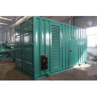 800kVA 640kw Electric Silent Diesel Generator Set Strong Power Output Anti Vibration Manufactures