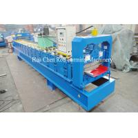 Aluminum Single Layer Roofing Sheet Roll Forming Machine , Galvanized Board Manufactures