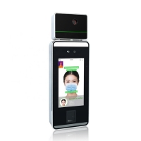 Facial Recognition Access Control System with Infrared temperature thermometer Manufactures