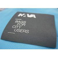 Flat Style Colorful Clothing Brand Labels , Cute Fabric Name Labels For Clothing Manufactures