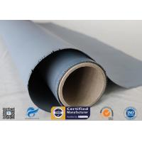 Buy cheap 260℃ High Temp. Resistant 18oz 0.45mm E-glass Silicone Coated Fiberglass Fabric from wholesalers