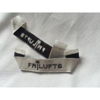 Pre Printed Clothing Custom Woven Labels , Self Adhesive Children'S Clothing Labels Manufactures