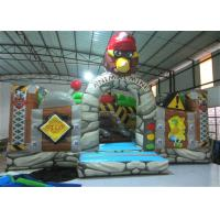 New The Gorilla Inflatable Fun City Animals The construction inflatable Amusement Park For Children under 12 years Manufactures