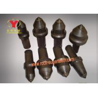 Durable Cutting Pick Abrasion Proof , High Impact Strength Coal Mining Bits Manufactures