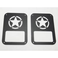 Star taillight cover for jeep wrangler taillamp cover auto parts car accessories Manufactures