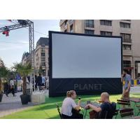 Advertising Blow Up Projector Screen PLAD-158 CE / UL Certificate Blower Manufactures
