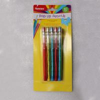 Hot Selling Standard Non-Sharpening Pencil 9 leads with blister card  for kids Manufactures
