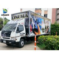 Movable 7D Movie Theater Trailer Manufactures