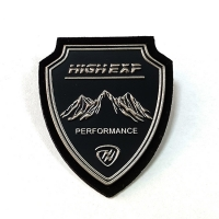 Clothing Logo Patches High Frequency Soft Embossed Badge 3D Tpu Patch For Clothes Manufactures