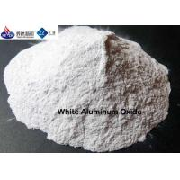 White Aluminum Oxide Emery Grain Powder For Polishing / Lapping / Grinding Manufactures