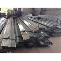 1.912 To 43.588kg / M Galvanised Steel Purlins Lipped Channel Steel Material Manufactures