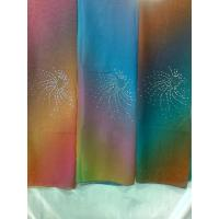 SPUN VOILE EMBROIDERY SEQUIN SCARF Manufactures