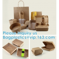 Disposable Hot Soup Bowls, Kraft Paper Soup Cup, 16oz Custom Logo Printed Disposable Kraft Paper Soup Cup Manufactures