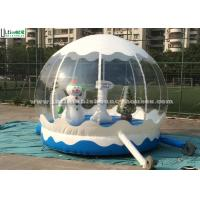 Quality Outdoor Bounce House Snowman Inflatable Kids JumpingBouncer for Garden for sale