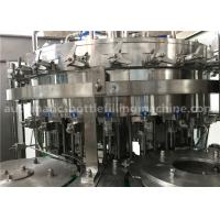 6.57KW Power Carbonated Drink Filling Machine PE Srew Cap For Gas Contained Beverage Manufactures