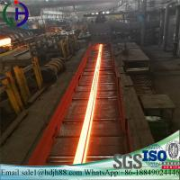 Material Q235 Railroad Steel Rail AISI ASTM With Excellent Mechanical Property Manufactures