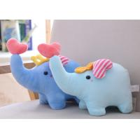 Cute Animal Plush Toys Little Elephant Doll 25 CM Size With Soft PP Cotton Stuffed Manufactures