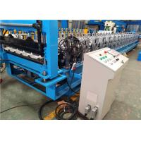 Custom Automatic Roof Panel Roll Forming Machine For Sheet Metal Roofing Manufactures
