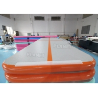 10ft Drop Stitch Material Inflatable Gymnastics Air Tumbling Track Manufactures
