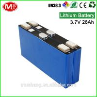 China customized 24V rechargeable battery Li-ion with BMS for energy storage system Manufactures
