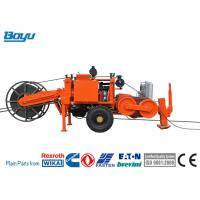 Buy cheap TY40 Hydraulic Puller Transmission Line Stringing Equipment Max Intermittent from wholesalers