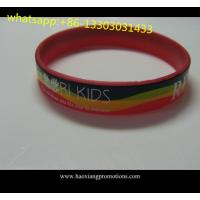 Buy cheap 1 inch Manufacture high quality cheap custom debossed silicone wristband from wholesalers