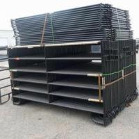 Black Painted Corral Horse Panel Manufactures