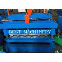 Buy cheap Corugated Tile Roll Forming Making Machine 380v 2 Years Warranty from wholesalers