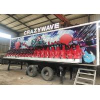 Anti Rust Paint Trailer Mounted Rides With 5-6 Layers FRP And GB Steel Material