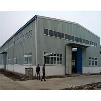 Multi Span Prefabricated Steel Structure Industrial Prefab Factory Building Manufactures
