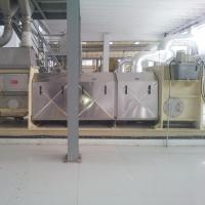 China Oil Painting Germ Horizontal Screw Press / Sludge Dewatering Screw Press on sale