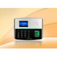 3 Inch TFT Screen Employee BioID  RFID Biometric Attendance System Manufactures