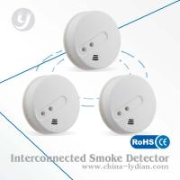 Buy cheap Wireless Interconnected Optical Smoke Detector 9V , First Alert Smoke Detector from wholesalers