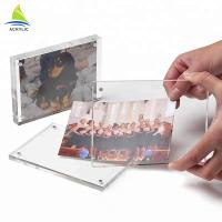 Buy cheap Flatness Fashion Clear Acrylic Picture Frames For Office Supplier Decorative from wholesalers