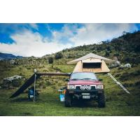 Outdoor Car Roof Shade Awning , Roof Rack Shade Awnings For 4x4 Vehicles Manufactures