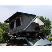 Half Automatic Z Shaped Hard Shell Roof Top Tent Manufactures