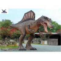 Attractive Animatronic Jurassic Dinosaur Garden Statue Mouth Movement With Sounds Manufactures