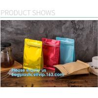 Buy cheap Biodegradable CompostMiddle Seal, K Bottom Seal, Flat Pouch, Luxury Coffee Beans from wholesalers