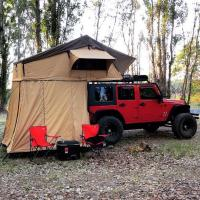 Customized Truck Pop Up Roof Top Tent Streamlined Design For Family Manufactures