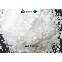 High Refractoriness Fused Aluminum Oxide , 3 - 1 Mm White Fused AluminaFor Refracrory Manufactures