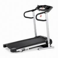 Motorized Treadmill with 1.5hp Drive DC Motor and 1 to 12kph Speed Range Manufactures