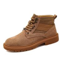 Buy cheap Great Fashion Athletic Style Work Boots Black Brown Khaki Three Colors Optional from wholesalers