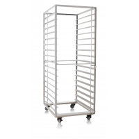 Durable 660x810x1780mm 17 Shelves Stainless Steel Trolly Manufactures