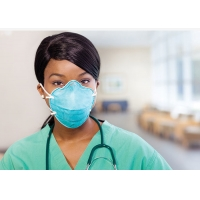 Buy cheap Niosh Particulate 3M 1860 N95 Health Care Flat Fold N95 Face Mask from wholesalers