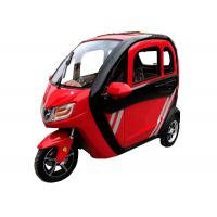 Red color Fashion 1200W Motor Mini Electric Tricycle for Adult Manufactures
