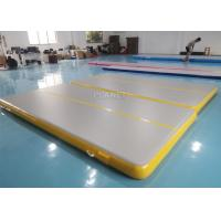Double Triple Stitching 4x2x0.2m Inflatable Air Tumble Track Manufactures