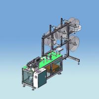 FFP2 FFP3 N95 KN95 Fold Non Woven Mask Making Machine Semi Auto System With CE Approval Manufactures