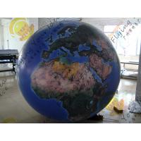Reusable 2.5m Inflatable Earth Ball Fire Retardant UV Protected Printing Manufactures