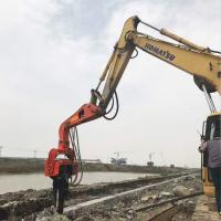Buy cheap Precision Vibratory Pile Hammer Excavator Hydraulic Pile Driver 2800rpm Piling from wholesalers